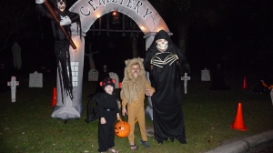 My Ghouls posing with a real ghoul!
